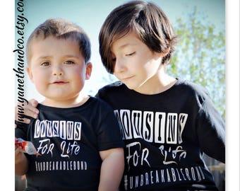 Cousins For Life #Unbreakablebond t-shirt, Cousins T-shirts,Matching cousins shirts,matching sister shirts,matching brothers shirt,twins