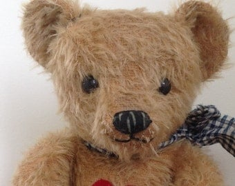 Hampton Bears, Twopence, antique old style Artist Bear