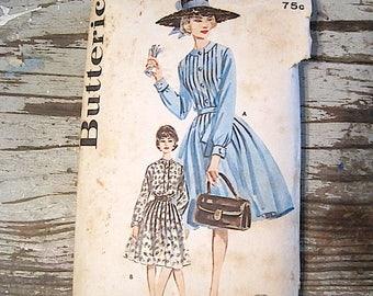1960's Era Size 12 Butterick Dress Pattern