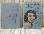 A Pair of Vintage Books About Teenagers - Teen Talk and Into Your Teens