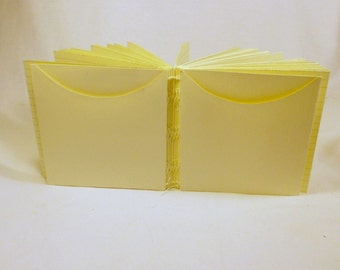 Custom Journal Pocket Add-On Hand Made to fit Your Journal PM#2