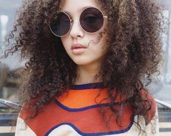 Vintage 70's mod Shrunken Sweater