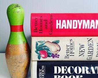 Better Homes & Gardens Books Set of 3 Vintage Binders Garden Book, Decorating Book, Handyman's Book