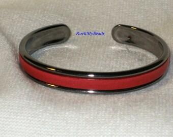 Bright Red Leather Cuff Bracelet,jewelry,leather cuff,red cuff bracelet,gift for her,leather bracelet,red bracelet,red cuff,bright red cuff