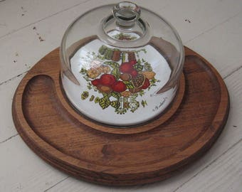 cheese tray glass cloche goodwood cheese tray 1970s entertaining woodlands wedding rustic country