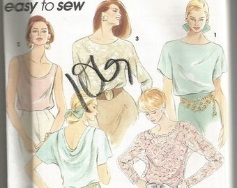Simplicity 8185 Misses Easy Top pattern SZ PT-Md.