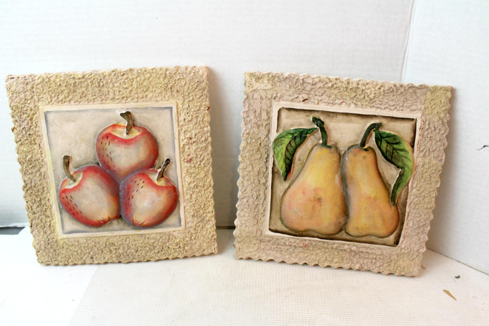 Fruit decor ceramic wall tiles wall decor kitchen - Kitchen curtains with fruit design ...