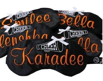 Personalized Cheerleader Team Sleep Mask Gifts