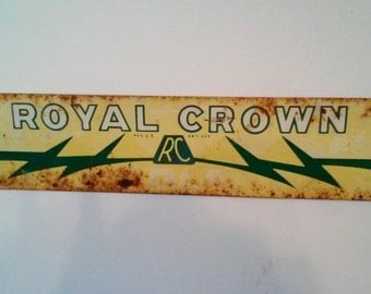 RC Cola Sign - Royal Crown Sign