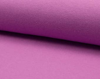 Light purple Ribbing, Cuff and waistband material