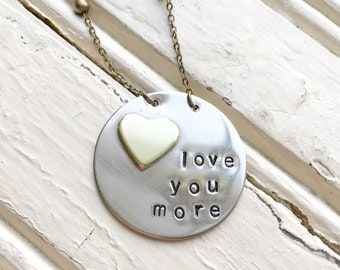 Love You More Soldered Necklace