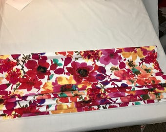 Clearance Roman Shade in Watercolor Floral