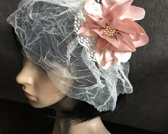 Bridal Veil // Vintage Wedding Hair Accessory