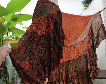Ariel on Earth Ruffle Wrap Skirt - OG0517-03