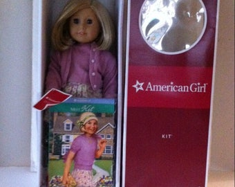 American Girl Kit Doll and Meet Accessories in Box
