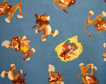Tawny Scrawny Lion fabric Quilting Treasures ( BTHY )
