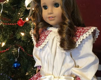 Edwardian style dress for American girl Rebecca 18in dolls