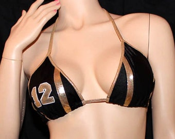 Saints - Football Bikini Top