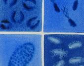 Custom Microbes Watercolor