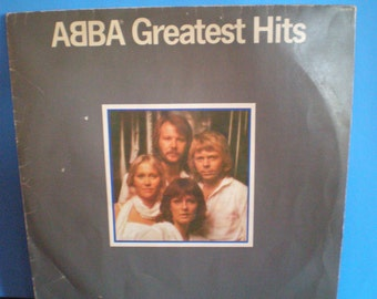 Vintage 1980's Record - ABBA Greatest Hits Album