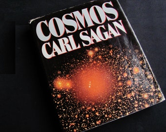 Science Book COSMOS By Carl Sagan 1980 Hardback With Dust Cover Nice Condition Gift For Your Technie Or Trekkie, Geekery, Space Travel