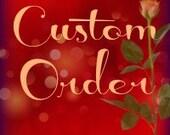 CUSTOM ORDER for Laurie, 33 birch wood bud vases
