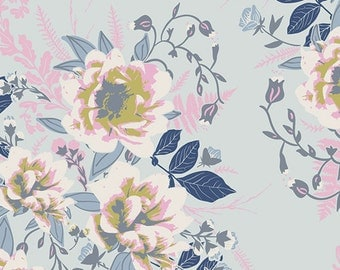Wild Posy Ethereal  E-100 - FUSIONS ETHEREAL - Art Gallery Fabrics - By the Yard