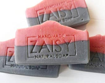 Black Raspberry Soap, Frangrance Oil, Activated Charcoal Soap, Luxurious Spa Soap, Handmade, Skin Loving, Gifts For Her