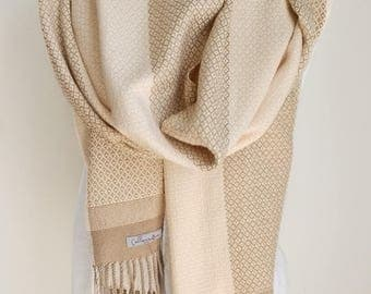 Extra Large Handwoven Scarf/Wrap