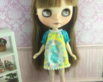 Blythe Smock Dress - Vintage Kitty