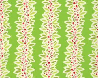 Heather Bailey for Free Spirit - GINGER SNAP - Garland in Green - By The Yard