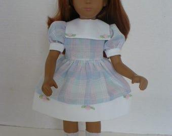 Sasha Pastel Plaid Dress Pattern
