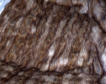 Lucious Long Pelted Mink     New Fur           7.00 Flat Rate Shipping