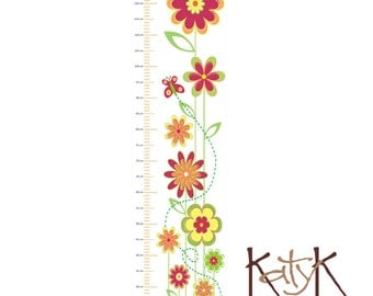 Flowers & Bee - Growth Chart
