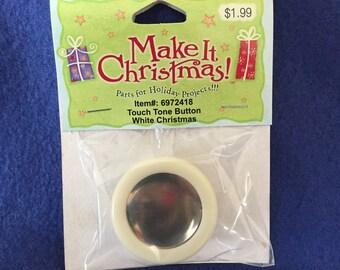 touch tone button, music button, white christmas