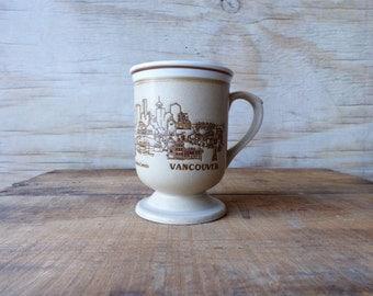 Vancouver Canada Souvenir Mug Vacation Mug Vintage British Columbia City Mug