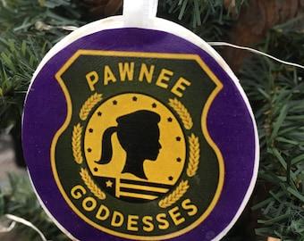 Parks & Rec Pawneee Goddesses  Ornament