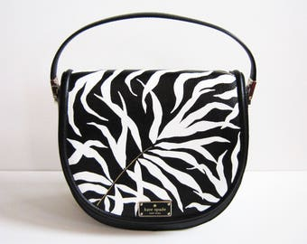 THE PALMS Hand-Painted Purse