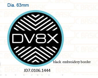 Custom embroidery patch JD7.0106.1444v2 JD7.0105.2128