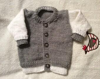 Baseball Jacket- Seamless, Knitting Pattern Instant download