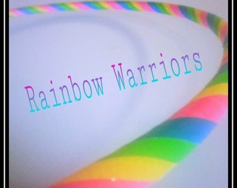Rainbow Warriors Custom Infinity Hoop Dance Hoop Beginner Intermediate Advanced