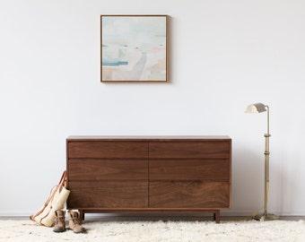 Hayward Dresser - Solid Walnut Bedroom Storage