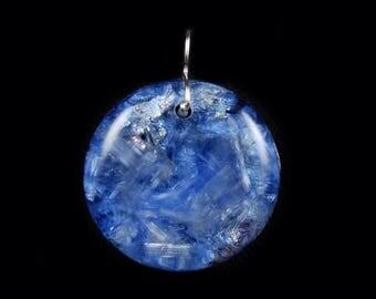 Orgonite® Orgone Pendant with Phenacite, Fluorite, Arkansas Crystals, Selenite, Elite Shungite, Petalite, Rhodizite, Tourmaline  (w38)