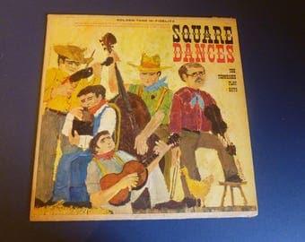 Square Dances The Tennessee Play Boys Vinyl Record LP C-4070 Golden Tone Records Rare