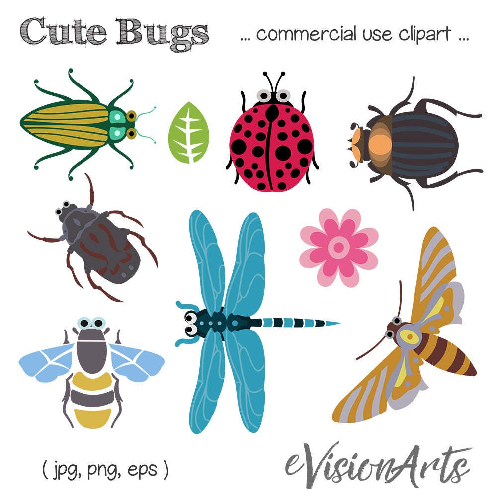 bug clip art insect clip art bee clip art dragonfly clip