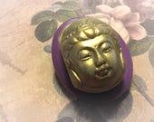 Buddha face flexible silicone mold/ fondant/ cake decoration