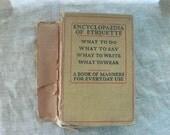 Encyclopedia of Etiquette by Emily Holt from Diz Has
