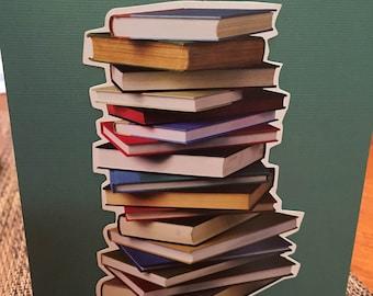 Books designed card