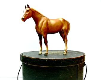 Breyer Quarter Horse Yearling - Traditional Model Vintage 1970s - Chestnut Palomino 101