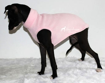 Italian Greyhound Puppy - First Walks - Sleeveless Sweater in Various Colours - see measurements under item details